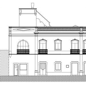 Topografia de Palacete histórico – 01
