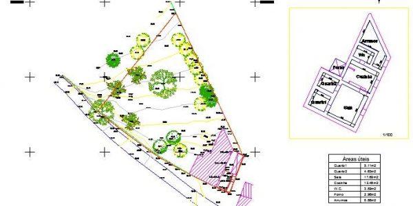 Execução de levantamentos topográficos